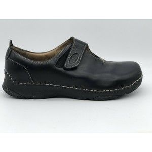Teva Men's Slip On Black Leather Loafer